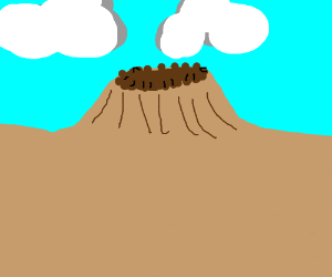 Making mountains out of molehills.