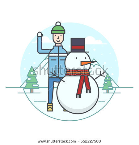 Making Snowman Stock Vectors, Images & Vector Art.