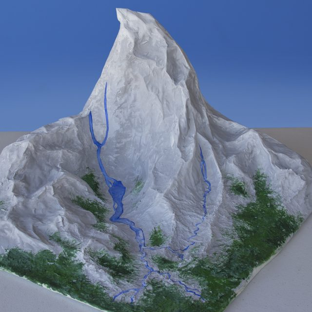 How to Make a Mountain Range From Paper Mache.
