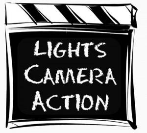Film making clipart.