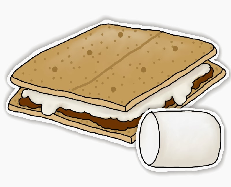 Making smores clipart the cliparts.