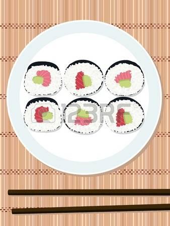 119 Makizushi Stock Vector Illustration And Royalty Free Makizushi.