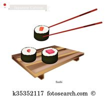 Makizushi Clipart Royalty Free. 39 makizushi clip art vector EPS.