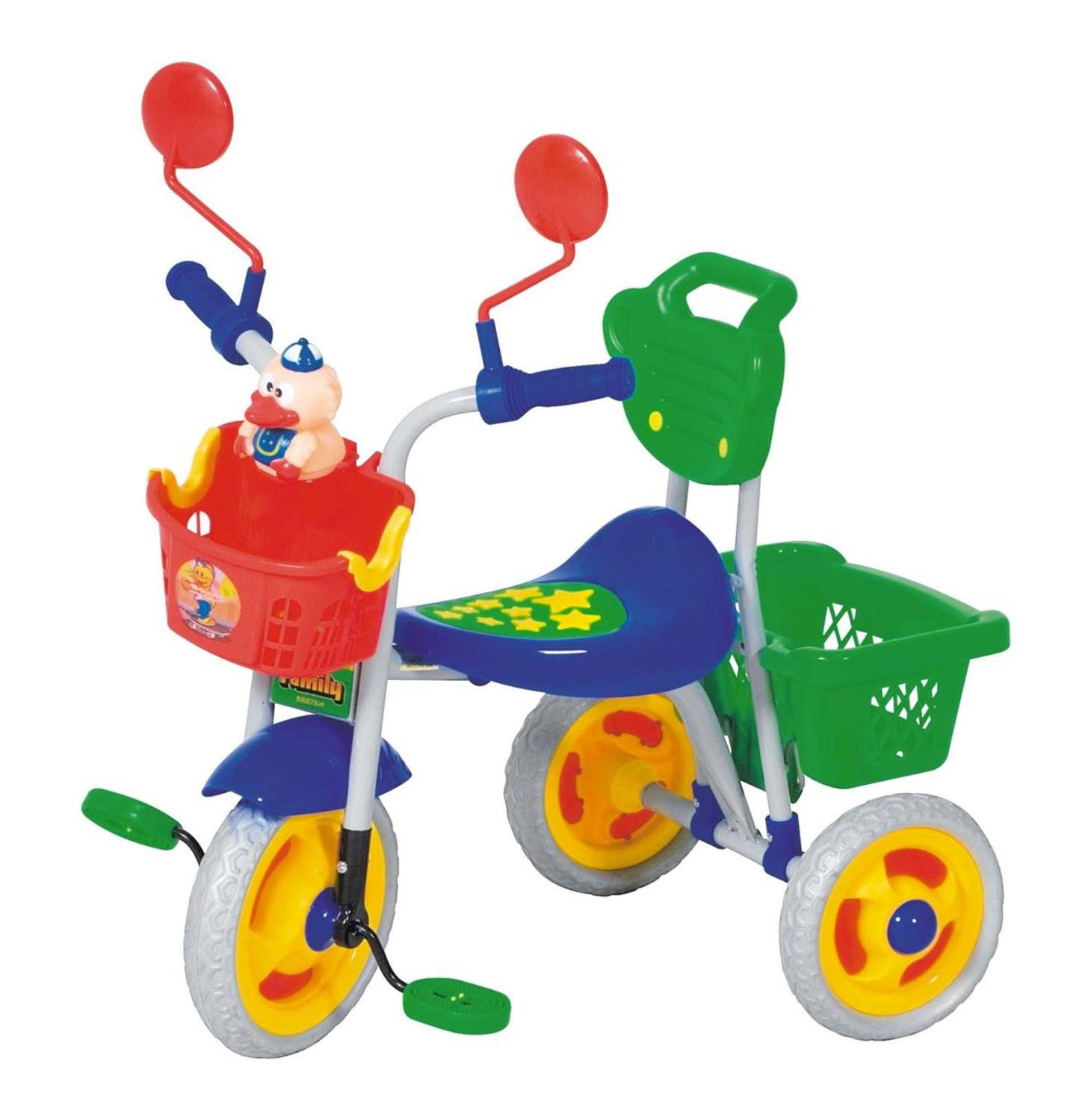 Kiddies Tricycle with 2 Baskets.