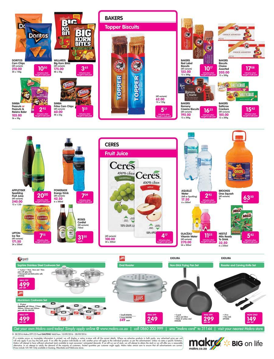 Makro : Food Deals Shop Catalogues Specials.