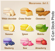 Macaron Clip Art and Stock Illustrations. 766 Macaron EPS.