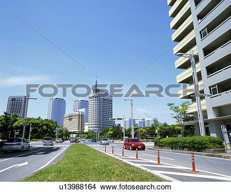 Stock Photo of Makuhari Bay Town, Chiba, Japan u13988164.