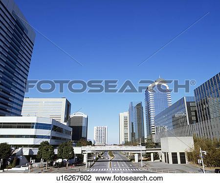 Stock Photo of Makuhari New City, Chiba, Japan u16267602.