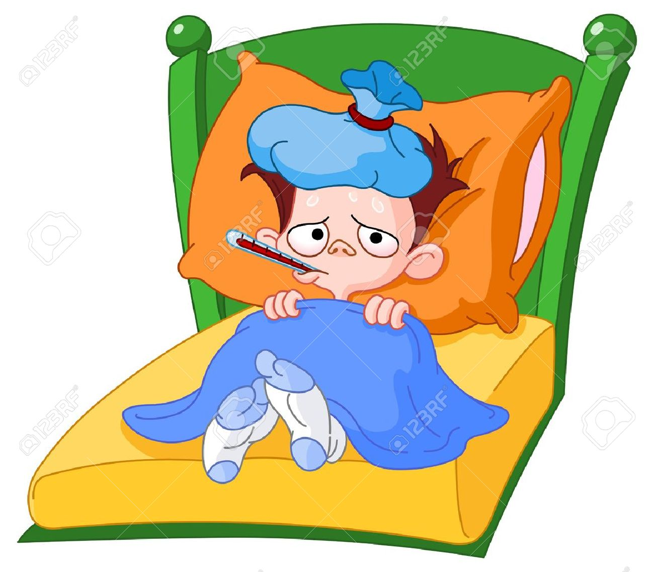 Malade clipart » Clipart Station.