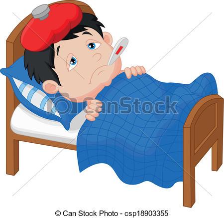 Enfant malade clipart 1 » Clipart Station.