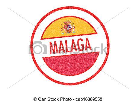 Stock Illustrations of MALAGA.