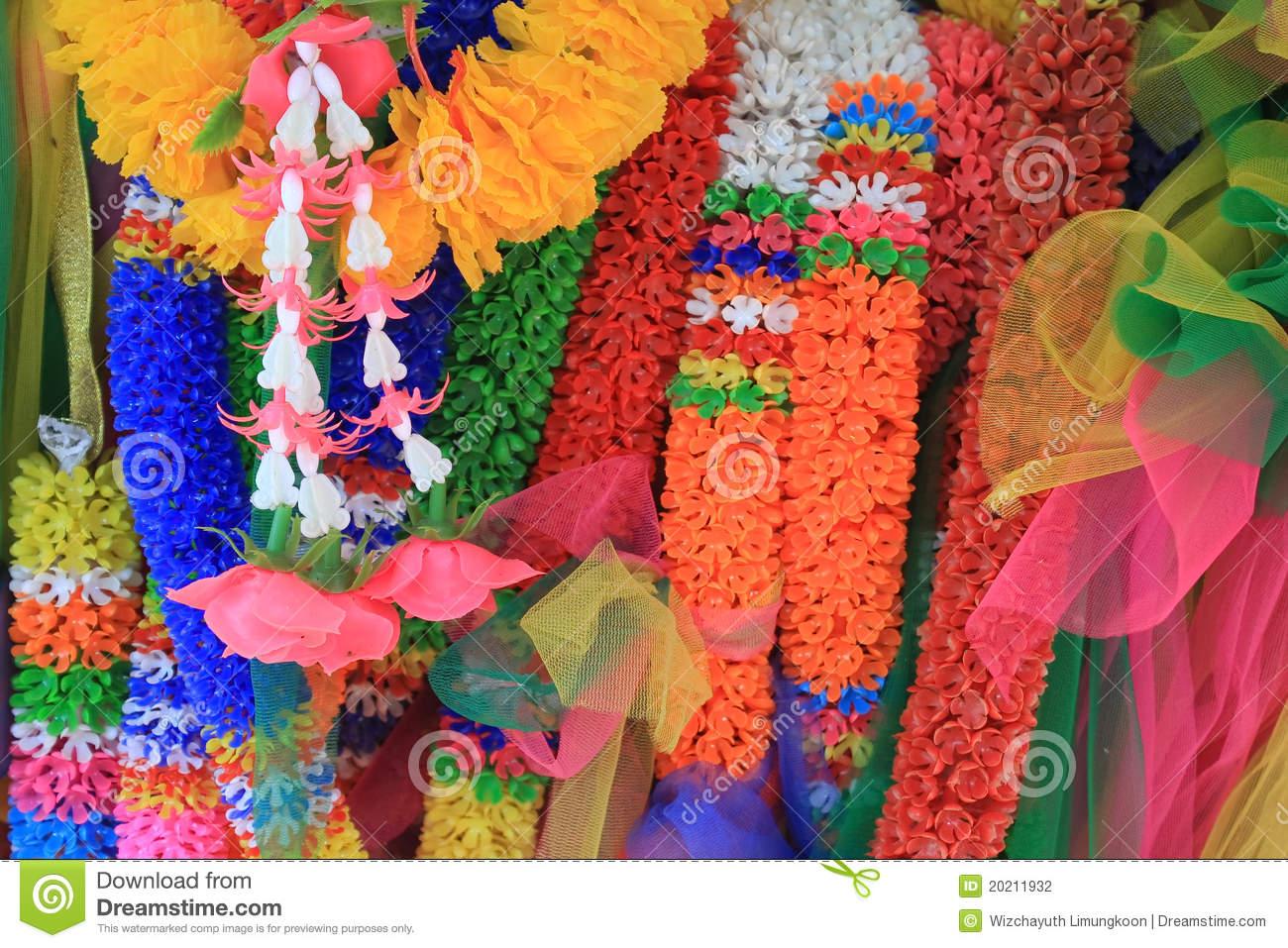Malai Thailand Stock Photo.