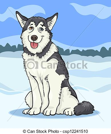 Malamute Clipart and Stock Illustrations. 156 Malamute vector EPS.