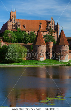 Castle River Medieval Burgundy Town Semur Stock Photo 83569114.