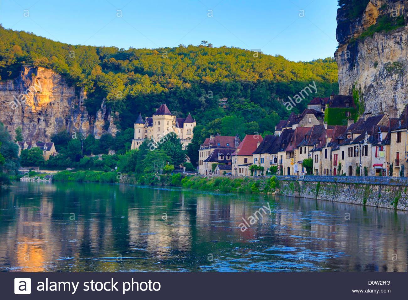 France, Europe, Travel, Dordogne, La Roque Gageac, Malartie.