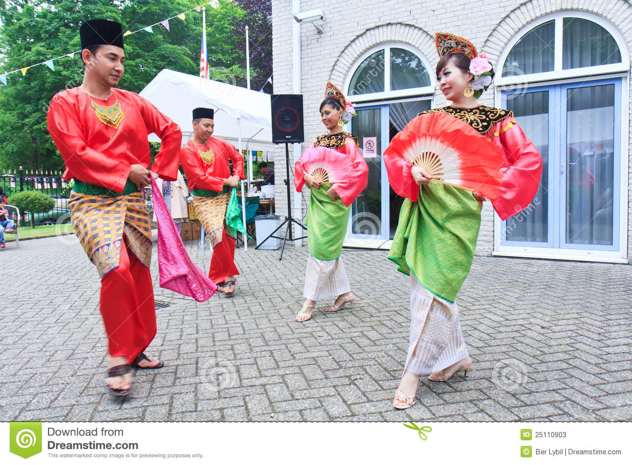 malay dance clipart - Clipground