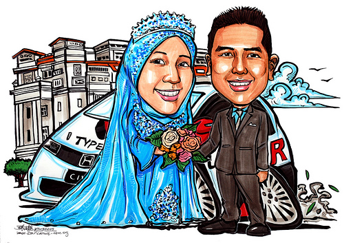 Showing post & media for Malay wedding cartoon.