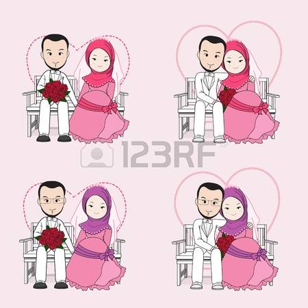 1,904 Muslim Wedding Stock Illustrations, Cliparts And Royalty.