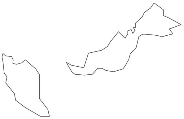 Malaysia Map Clip Art.