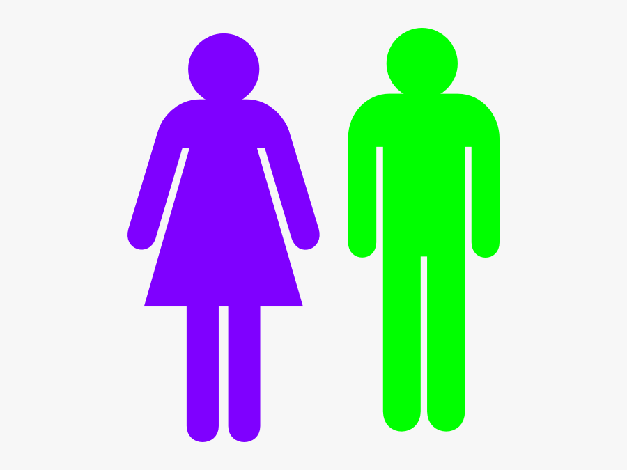 Stick Figure Male And Female , Free Transparent Clipart.