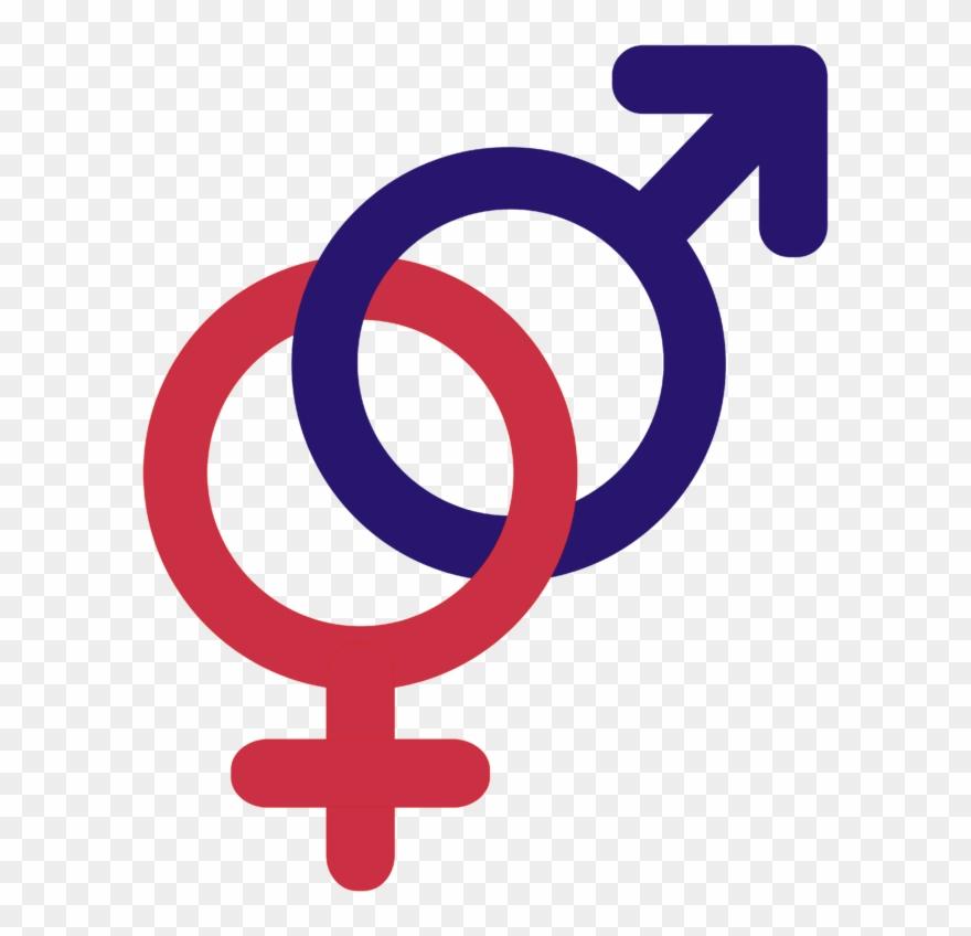 Symbols Venus Mars Joined Together.