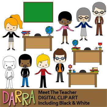 Meet The Teacher Clip Art.