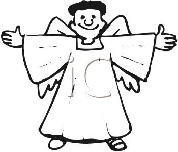 Male angel clipart 2 » Clipart Portal.