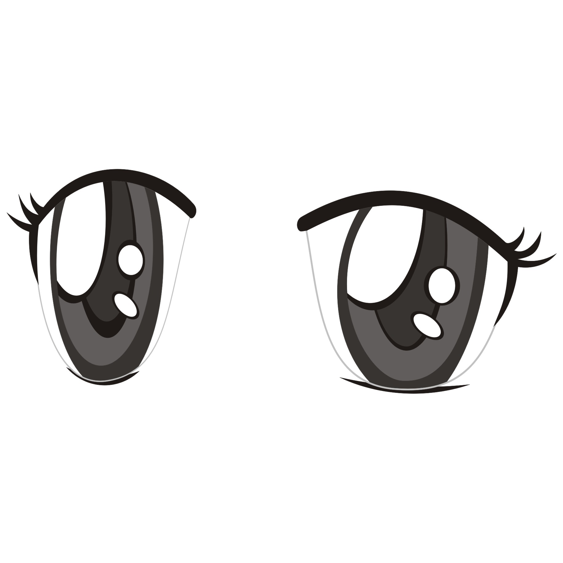 Male Anime Eyes Png.