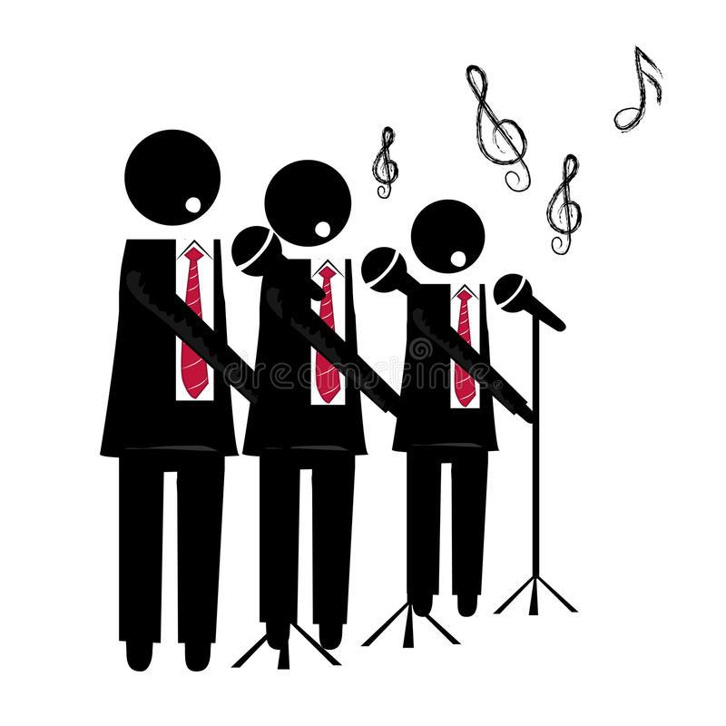Male Choir Stock Illustrations.