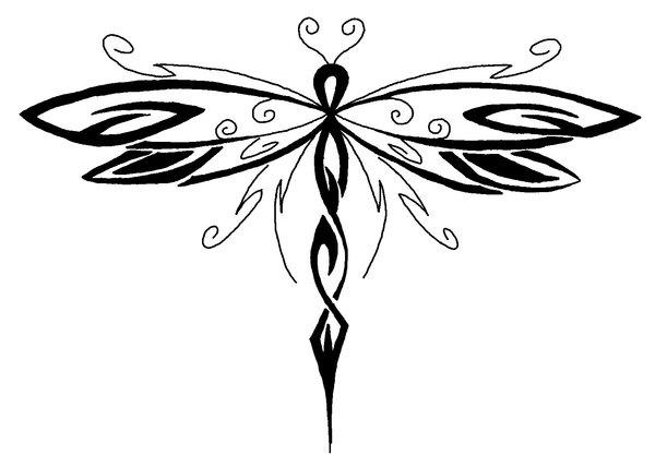 Drawings Of Dragonflies.