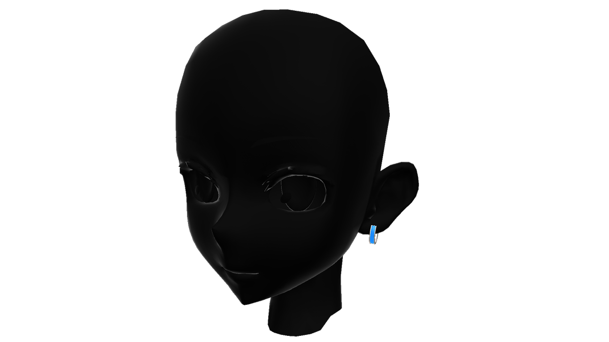 MMD Male Earring Style 1 DL by chickid11 on DeviantArt.