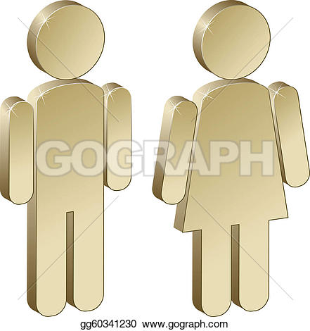 Male Female Clip Art.