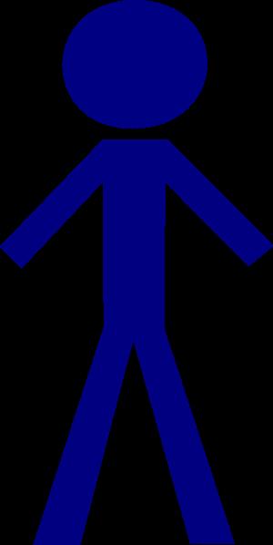 Stick Figure Man Clipart.