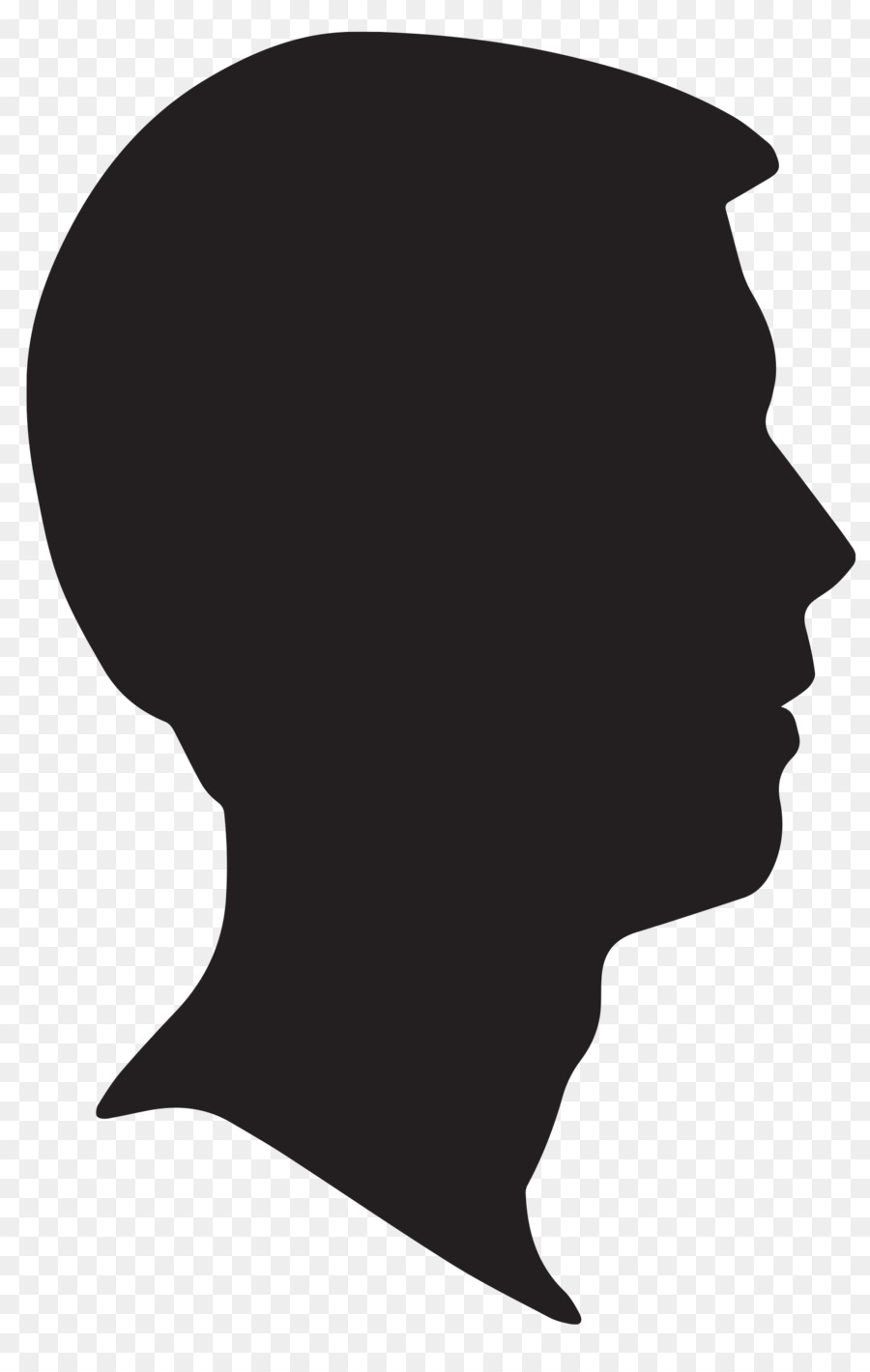 Male Head png download.