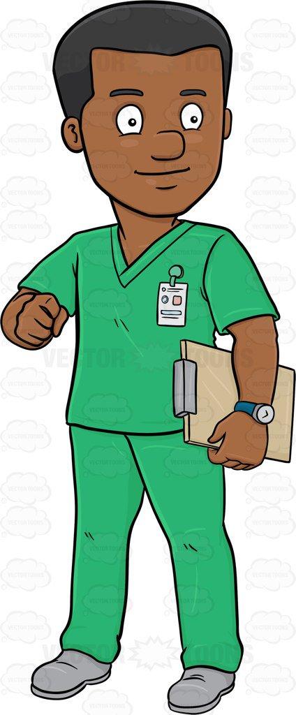 Male nurse clipart 4 » Clipart Station.