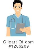 Male Nurse Clipart #1.