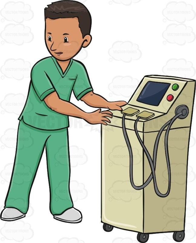 Male Nurse Cartoon.