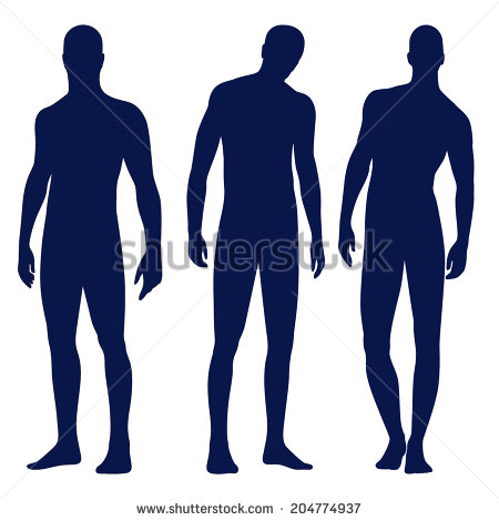 Male Silhouette Stock Images, Royalty.
