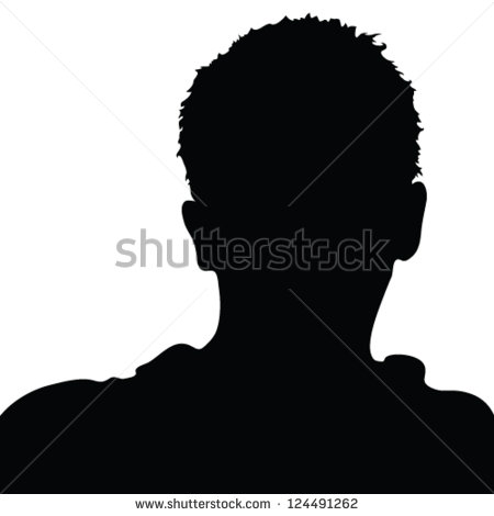 Face Silhouette Stock Images, Royalty.