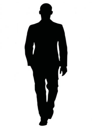 Male Silhouette Clip Art.