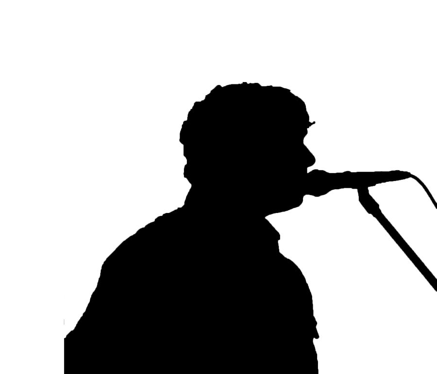 Free Male Singer Silhouette, Download Free Clip Art, Free.