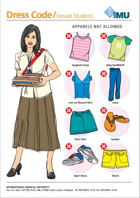 Student and Faculty Dress Codes.