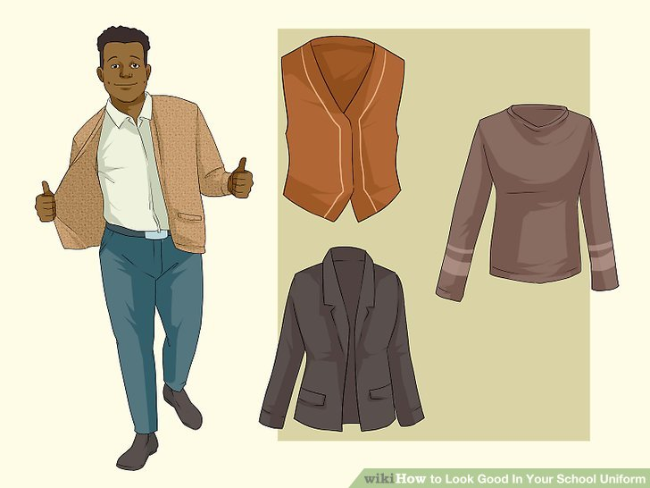 How to Look Good In Your School Uniform (with Pictures).