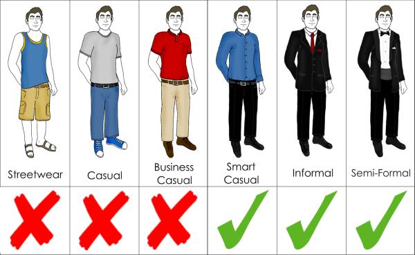 N Jen Mana Ersk Dress Code in male student dress code clipart.