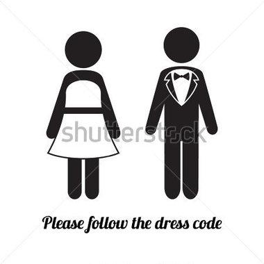 Male Dress Code Clipart.