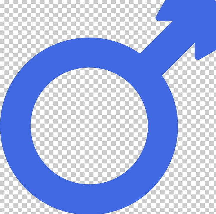 Gender Symbol Male PNG, Clipart, Area, Blue, Brand, Circle.