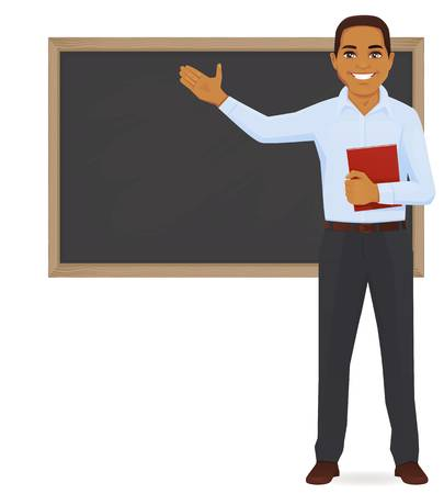 1,937 Black Male Teacher Cliparts, Stock Vector And Royalty.