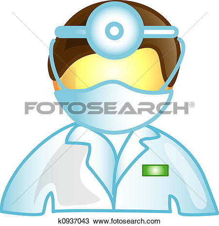 Stock Illustration of Male Veterinarian u22598895.