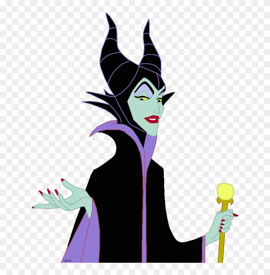 Maleficent Clip Art Image.