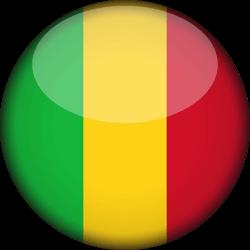 Mali flag clipart.